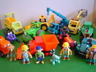Bob the Builder Friction Powered Vehicles + Figures Lots of Characters