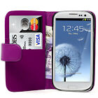 Samsung Galaxy S3 III i9300 Phone Case Cover Magnetic Book Flip Pu Leather Smart