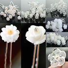 20Pcs Crystal Rhinestone Wedding Bridal Party Flower Hair Clip Hairpin