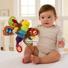 2014 New Baby Kids Soft Developmental Hang Toy Lovely Plush Rattle Crinkle Toys
