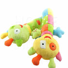 PLUSH CATERPILLAR RATTLE TOY KIDS CHILDREN PLAYTIME COLORFUL ATTRACTIVE SAFE