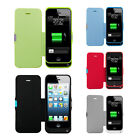 2200mAh Backup Extended Battery Flip Power Charger Case For IPHONE 5/5S/5C