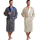 Mens Silk Pajamas Pajama Pyjamas Sleepwear Nightgown Robes S M L XL XXL 3XL