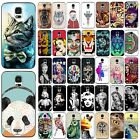 Hot Various Lovely Animal Marilyn Monroe Case Cover For Samsung Galaxy S3 S4 S5