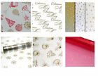 Christmas Cellophane CelloGift Craft Hamper Wrap 2m ~ Different Designs to Chose