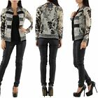 Womens Ladies Evening Party Jacket Double look Jumper Top Sizes UK 6 8 10 12