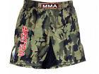 WOLDORF USA MMA Board shorts soft Polyester Green Digital Camouflage LOGO Large