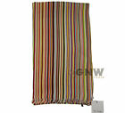 PAUL SMITH MEN'S MULTICOLOUR STRIPE 100% WOOL MADE IN ITALY NEW Was £125