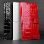 FOR SAMSUNG GALAXY NOTE 3 GENUINE LEATHER FLIP WALLET BUSINESS PHONE CASE COVER