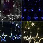 2M 138 LED Romantic Stars Curtain String Fairy Light for Party Wedding Xmas