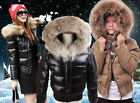 2014 New Womens fashionable Winter 100% real Fur Down Parka short coat /Jacket