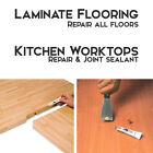Laminate Wood Flooring & Kitchen Worktop Repair Sealant ALL COLOURS! NEW!