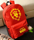World of Warcraft ( WOW ) Alliance LOGO Backpack & Schoolbag & Shoulder bag