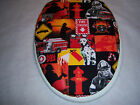 FIREMAN fire fighter dalmation Toilet Seat Lid Slip Cover