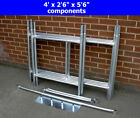 DIY Scaffold Tower / Boards Option 3.5m (4&#039; x 2&#039;6&quot; x 11&#039;6&quot; WH) Galvanised Steel <br/> Stronger Than Aluminium but Lightweight &amp; Easy to Build
