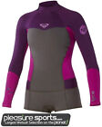 Roxy Syncro Booty Cut Springsuit Womens Long Sleeve Wetsuit - Grey/Purple