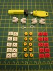 Playmobil RED, YELLOW CONNECTORS  [Spare Part  Replacements]