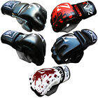 Rex Leather MMA Gloves Gel Grappling Muay Thai Cage Fight PunchBag Gloves MULTI