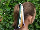 Team Colors Ribbon Ponytail Holder Made with Green Bay Packers Grosgrain Ribbon $5.95 USD on eBay