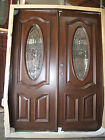 Summer SALE!! Solid Mahogany Wood Door Pre-hung &Finished DMH7350-GL04