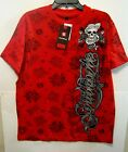 NEW SOUTHPOLE MENS RED SKULL T-SHIRT M, L, XL, XXL