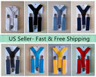 Внешний вид - NEW Y Back  Elastic Suspender for Boys Girls Kids - Ship from USA