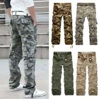 Mens Military Camouflage  Pants Combat Army Pants Camo BDU Cargo Pants Trousers