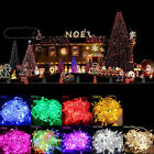 Christmas Hot gift Multi-Color 10M 100LED Party String decoration Light US Plug