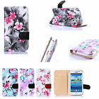 Elegant Flip Leather Skin Magnetic Slot Wallet Case Cover W/Stand For Samsung