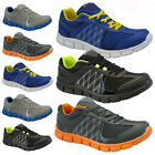 MENS RUNNING TRAINERS CASUAL VELCRO RUNNING GYM WALKING BOYS SPORTS SHOES SIZE