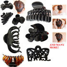 Hair Claw Clip Women Butterfly Clamp Clips Scrunchy Salon Strong Gripper Up Hold