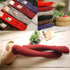 Winter Womens Turn Up Rib Colorful Dot Wool Knee High Winter Boot Socks 6 Colors