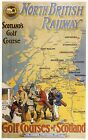 369 Vintage Railway Art  -  Golf Courses Of Scotland