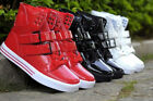 2014 New Men's High Top Velcro Fashion Hip-hop Sneakers Shoes Ankle Boots