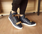 Mens Synthetic Lace Up Casual Korean Ankle Boots Hot Hip Hop Fashion Shoes