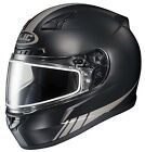 HJC CL-17 Streamline Frameless Dual Lens Snow Helmet Flat Black Reflective