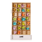 Teddy Bear Wooden Freestanding A-Z Alphabet Childrens Name Bedroom Wall Letters