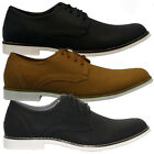 NEW MENS NUBUCK LACE UP CASUAL FORMAL DESERT CHELSEA BOOTS TRAINERS SHOES SIZE