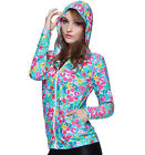 Woman Rash Guards Scuba Snorkeling Top Wet Suit Diving Surfing Shirts With Hood