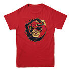 Rocket Factory Grease Monkey For Ever T-shirt Mens Sizes S to XXL