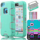 Hybrid Shockproof Shock Dirt Proof Durable Dual Layer Case Cover For iPhone 5C C