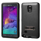 New Slim Hybrid Armor Hard Protective Case Cover Stand For Samsung Galaxy Note 4 on Rummage