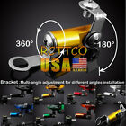 US 7 Colors Universal Fluid Reservoir Master Cylinder Bracket For VF750S SABRE