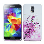 For Various Samsung Galaxy Printed Flower Silicone Soft Skin Case Gel Cover NEW