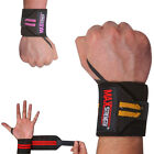 MAXSTRENGTH Weight Lifting Wrist Straps Gym Training Hand Support Brace Bar Wrap