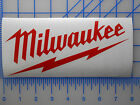 "Large Milwaukee Tools Decal Sticker 12"" 17"" 22"" Sawzall Drill Saw Impact M12 M18"
