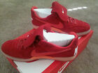 Nike NSW Tiempo 94 Soccer Casual Shoes Mens 10 11 12 12.5 Red Orange 631689 608