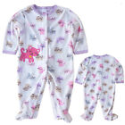New Arrival 0-12M Newborn Baby Girl Soft Fleece Jumpsuit Romper Climbing Clothes