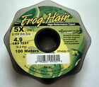 Frog Hair FlyFishing Monofilament Tippet - 100 Meter Guide Spools - All Sizes