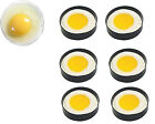 Non Stick METAL EGG FRYING RINGS Perfect Circle Round Fried/Poach Mould